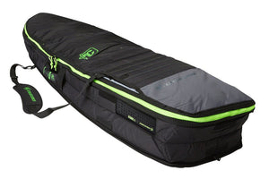 Creatures of Leisure Fish Double Board Bag - Charcoal Lime SURF WORLD