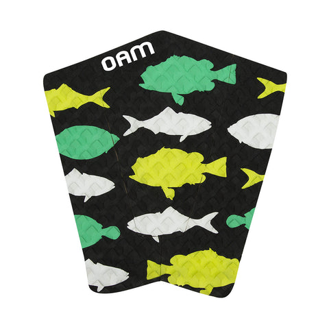OAM Fishes Pad Green Traction TP15FESGRE - SURF WORLD Fort Lauderdale Florida