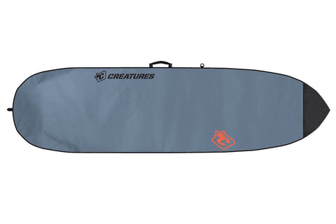 Creatures of Leisure Fish Lite Board Bag - Charcoal Orange - SURF WORLD Fort Lauderdale Florida
