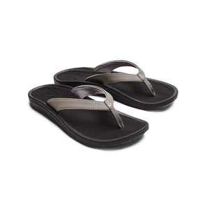 Oluka Kulapa Kai Womens Sandal - Fog Black SURF WORLD
