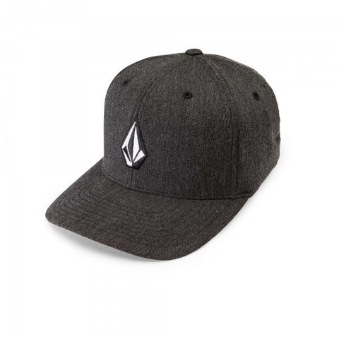 Volcom Full Stone Charcoal Heather Flexfit Hat D5511588-CHH - SURF WORLD