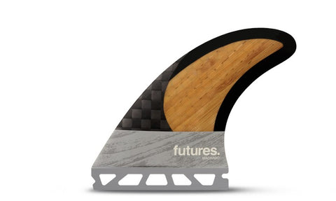 FUTURES FINS ROB MACHADO BAMBOO / CARBON TRI FIN SET 2017 - SURF WORLD Fort Lauderdale Florida