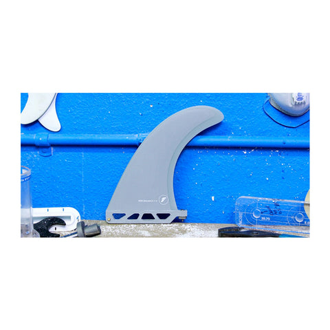Futures Performance 7.0 Fiberglass Fin - Solid Grey Transparent Grey - SURF WORLD Fort Lauderdale Florida