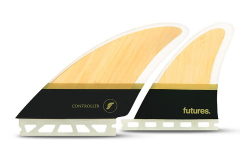 Futures Controller HC Quad Fins - Bamboo Brown - SURF WORLD Fort Lauderdale Florida