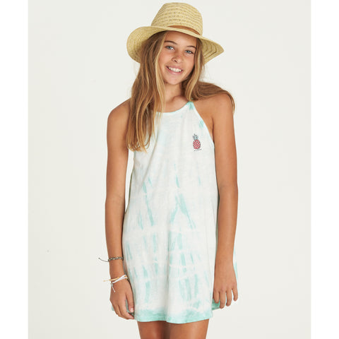Billabong Girls Namaste All Day Dress Beach Glass