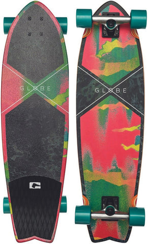 "Globe Chromantic Cruiser 33.1"" Melted Melon Complete Skateboard 10525055-MMN - SURF WORLD Florida"