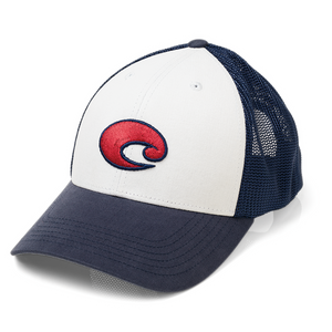 Costa Chesapeake Hat - White SURF WORLD