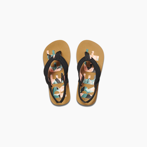 Reef Little Ahi Kids Sandal - Hibiscus Reef