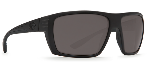 a89f23bfd7 Costa Hamlin Blackout Polarized Matte Black Grey 580P Lens Sunglasses  HL01OGP