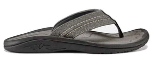 Olukai Hokua Mesh Mens Sandal - Clay/ Charcoal SURF WORLD