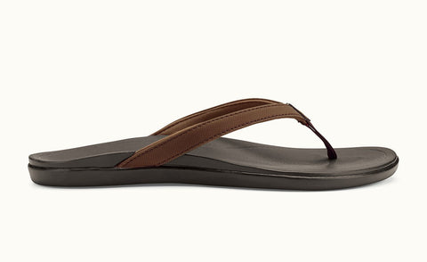 Olukai Ho'opio Dark Java/ Dark Java Sandals - SURF WORLD  - 1