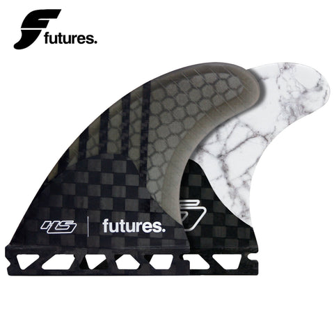 Futures Fins HS2 GENERATION SERIES White Marble Medium Surf Fins Hayden - SURF WORLD Fort Lauderdale Florida