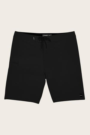 Oneill Hyperfreak Solid Mens Boardshorts - Black