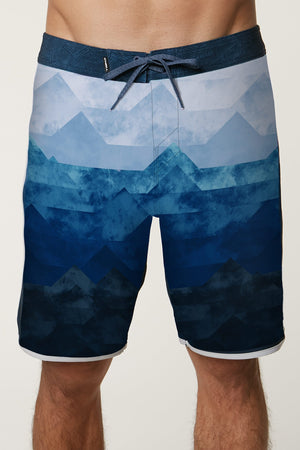 O'Neill Hyperfreal Trio Men's Boardshorts - Navy SURF WORLD