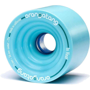 Orangatang In Heat 75mm 77a Skateboard Wheels - Blue