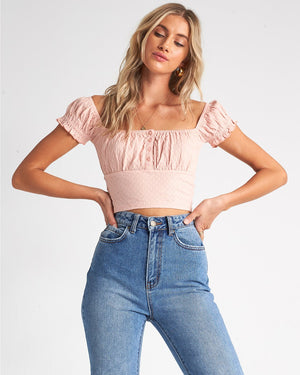 Billabong Paradise Love Top - Peaches