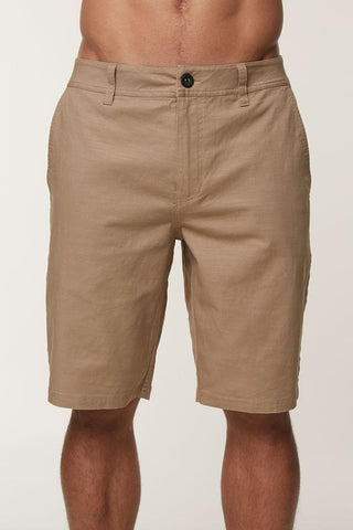 Oneill Jay Stretch Chino Shorts - Khaki