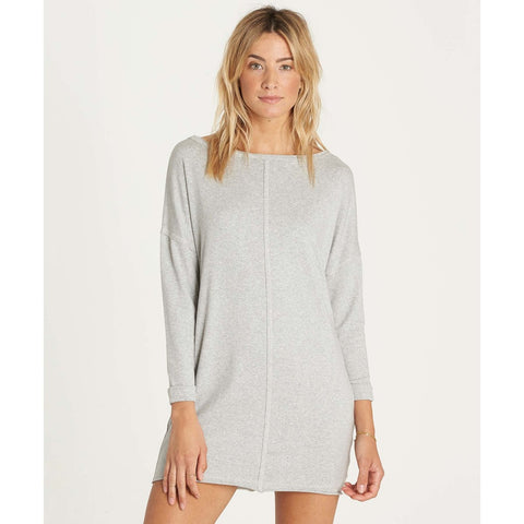 Billabong Only One Dress - Athletic Grey - SURF WORLD Fort Lauderdale Florida