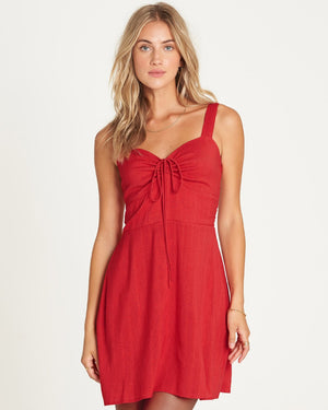 Billabong Cherry Kisses Mini Dress - FUE SURF WORLD