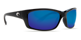COSTA JOSE Black  Blue Mirror 580G POLARIZED Glass Sunglasses