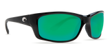COSTA JOSE Black Green Mirror 580P POLARIZED Sunglasses