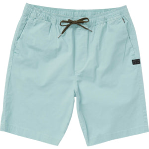 Billabong Larry Layback Mens Shorts - Light Khaki - Dark Ozone SURF WORLD