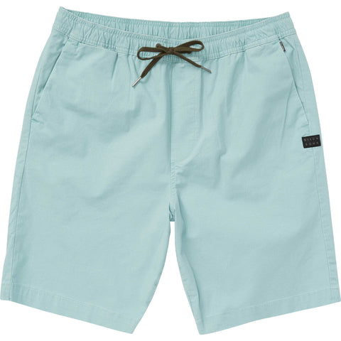 Billabong Larry Layback Mens Shorts - Light Khaki - Dark Ozone