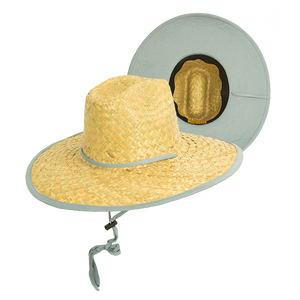 Goldcoast Kenny Underbrim Straw hat -Grey / Tan