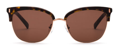 Otis Little Lies Matte Dark Tortoise Brown Polarized Sunglasses - SURF WORLD Fort Lauderdale Florida
