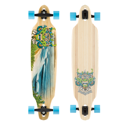 Sector 9 Lookout Complete Longboard Skateboard BBS166C - SURF WORLD Florida