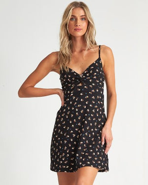 Billabong Love Me Knot Womens Dress - Black