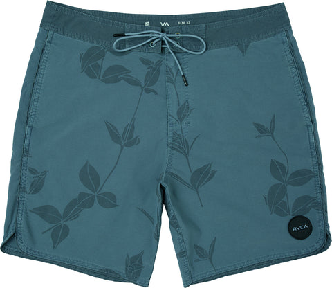"RVCA Toro Men's Boardshorts 18"" Pocketed - Blue Slate"