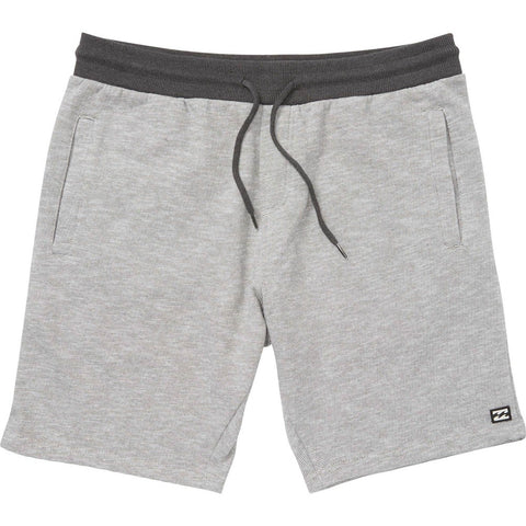 Billabong Balance Short Mens Shorts - Light Grey Heather - SURF WORLD Fort Lauderdale Florida