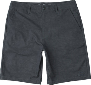 "RVCA Back In Hybrid Shorts 19"" - Denim Heather SURF WORLD"