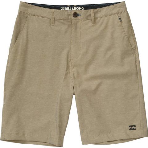 Billabong Crossfire X Twill Mens Shorts - Light Khaki - SURF WORLD Fort Lauderdale Florida