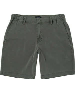RVCA All Time Rinsed Coastal Hybrid Mens Shorts - Sequoia Green