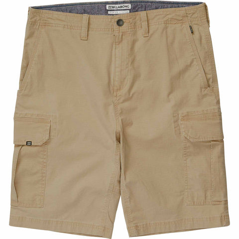 Billabong Scheme Cargo Short - Light Khaki - SURF WORLD Fort Lauderdale Florida