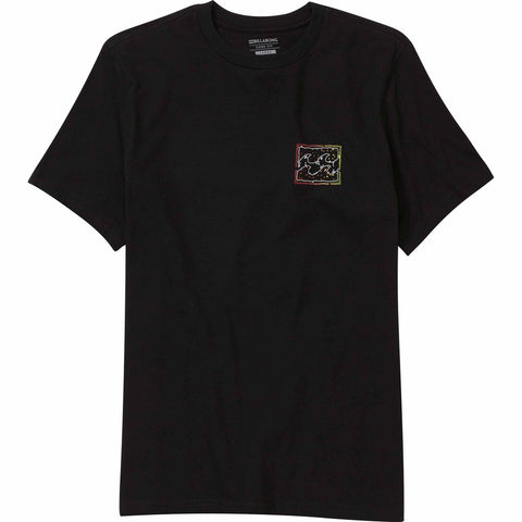 Billabong Psycho Wave Tee - Black - SURF WORLD Fort Lauderdale Florida