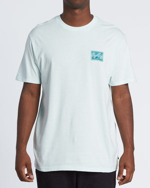 Billabong Dawn Patrol Short Sleeve Tshirt- Sky Blue