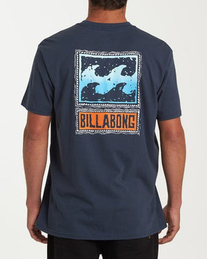 Billabong Fifty Wave Tee - Navy
