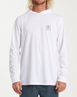 Billabong Stacked Long Sleeve T-Shirt - White