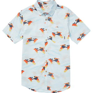 Billabong Sundays Floral Pelican Short Sleeve Shirt CTL SURF WORLD