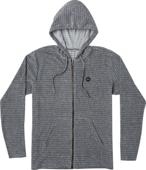 RVCA Super Marle Zip Hoodie - Navy SURF WORLD