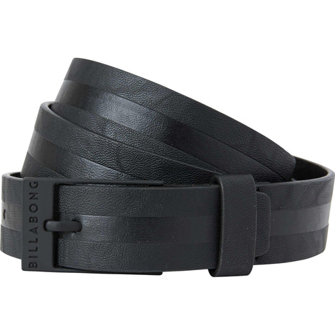 Billabong Bower Belt PU - Black - SURF WORLD Fort Lauderdale Florida