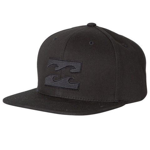Billabong All Day Black Snapback MAHTAALSBLK - SURF WORLD