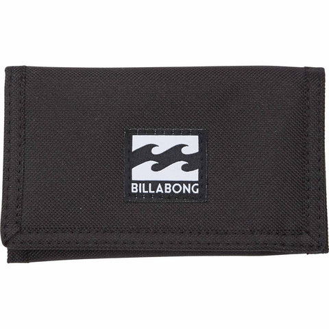 Billabong Atom Wallet Black - SURF WORLD