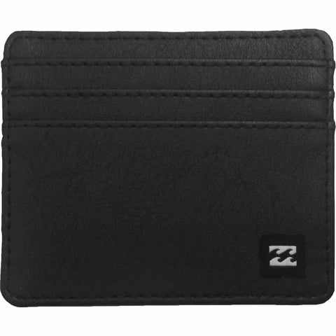 Billabong Cashed Out Card Wallet Blk - SURF WORLD Florida