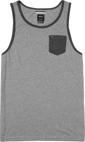 RVCA Change Up Tank Top in Grey Noise MB901CHT-GRS - SURF WORLD Florida