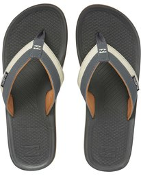 Billabong Offshore Impact Mens Sandal - Charcoal SURF WORLD