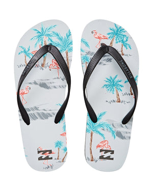 Billabong Tides Mens Sandals - Gry Flamingo SURF WORLD